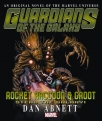 rocket raccoon groot steal the galaxy prose novel