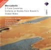 mercadante 3 flute concertos - sinfonia on themes from rossinis stabat mater