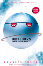the hitchhikers guide to the galaxy omnibus the complete trilogy in five parts