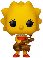 figura - the simpsons lisa with saxophone